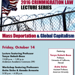 Crimmigration Law Lecture Series Resumes at Denver Law